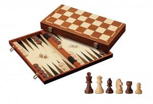 Schach Backgammon Dame